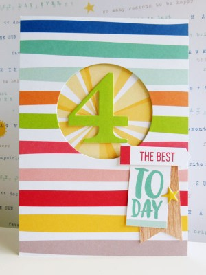 Elle's Studio - Sunny Days - 4 today card