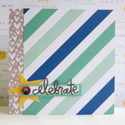 Elle's Studio - Sunny Days - Celebrate card