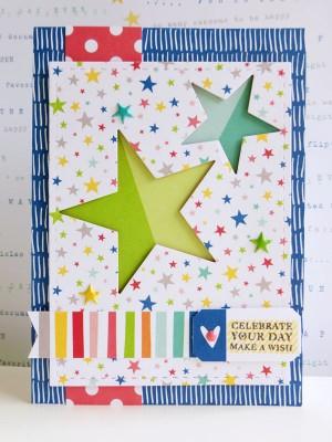 Elle's Studio - Sunny Days - Make a wish card