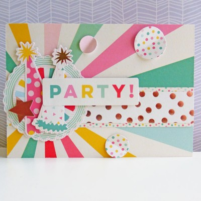 My Mind's Eye - Hooray - Party card