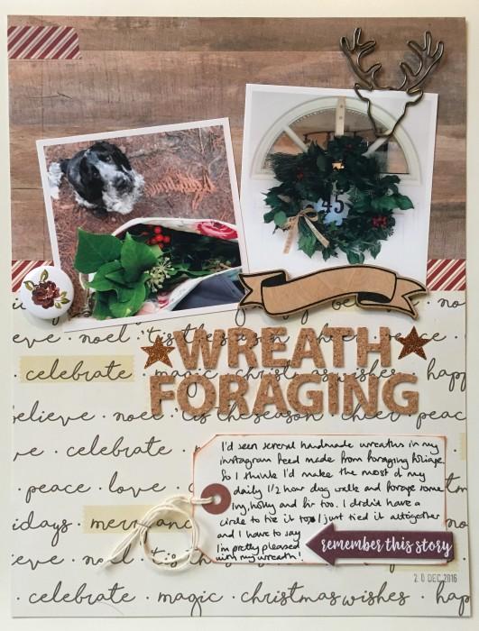 wreath-foraging
