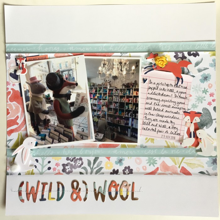 (Wild &) Wool - Layout