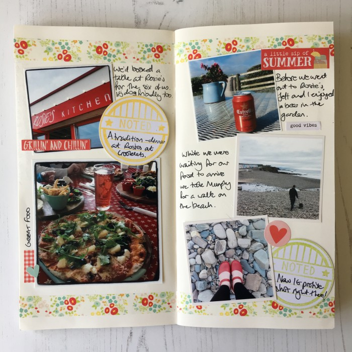 Jo Boland HLM June Traveler's Notebook Spread4