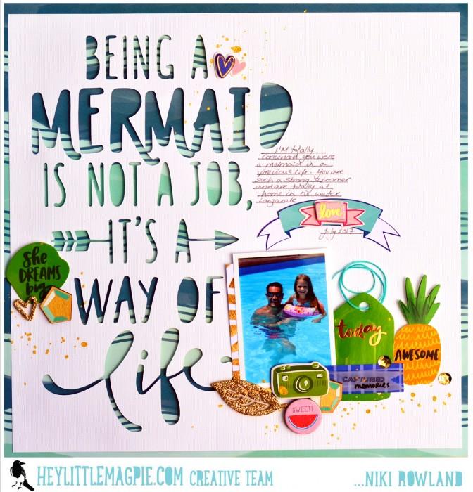 Mermaid Niki Rowland Hey Little Magpie Amy Tangerine Hustle and Heart