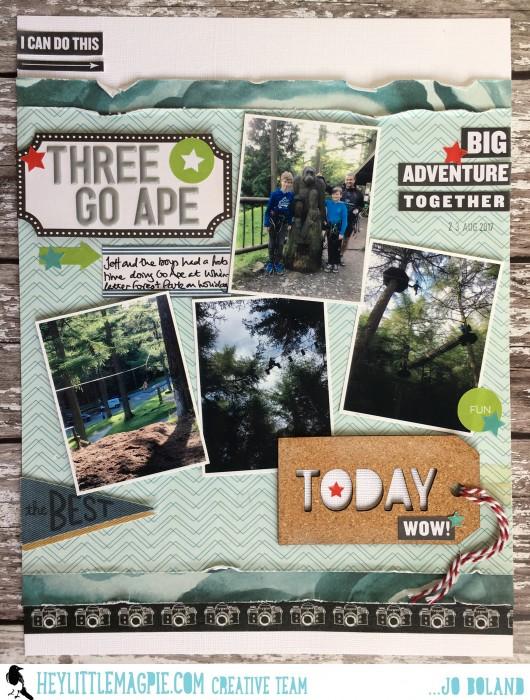Hey Little Magpie Jo Boland 'Three Go Ape'