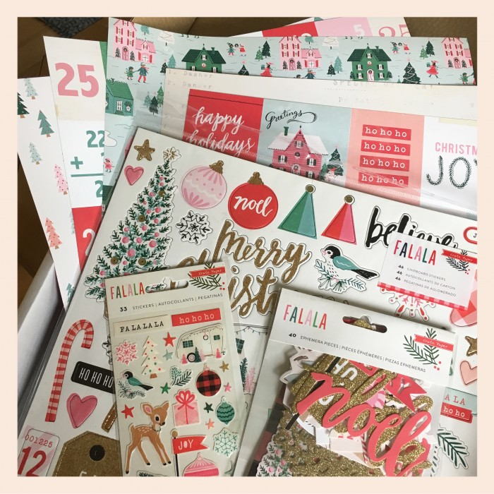 Jo Boland Hey Little Magpie DT Crate Paper Falala stash