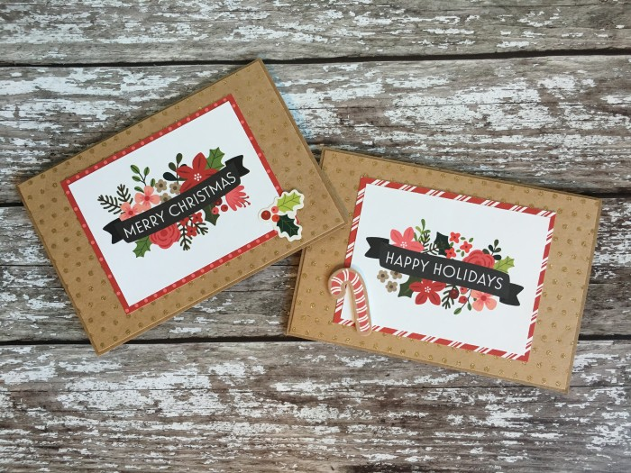 Jo Boland Hey Little Magpie Pebbles Merry Merry Christmas Cards set 1