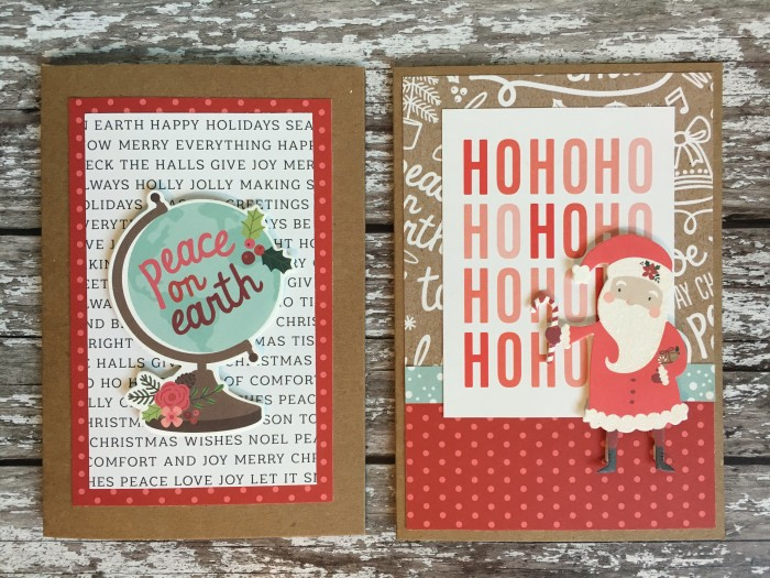 Jo Boland Hey Little Magpie Pebbles Merry Merry Christmas Cards set 2