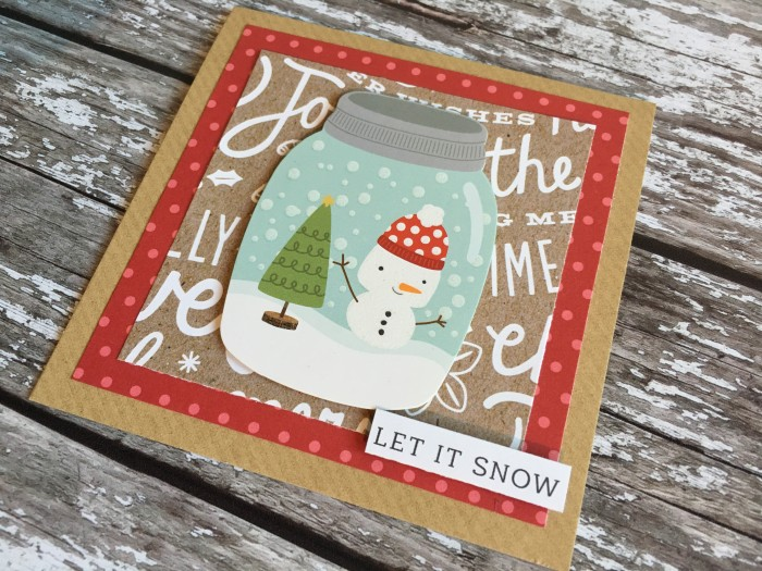 Jo Boland Hey Little Magpie Pebbles Merry Merry Christmas Cards set 5 crop1