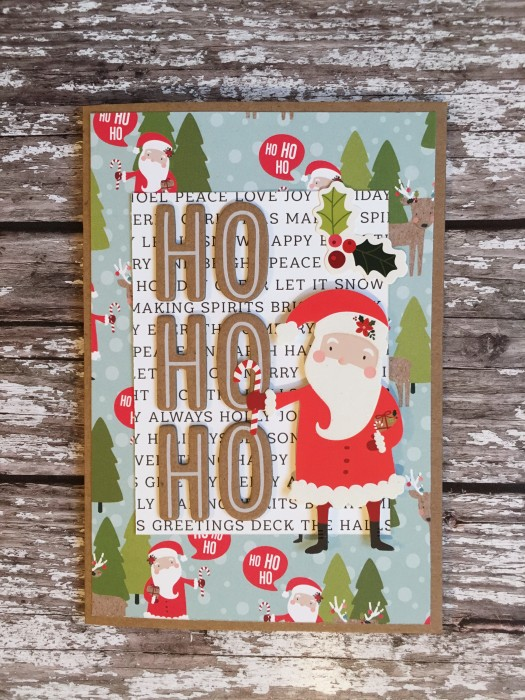 Jo Boland Hey Little Magpie Pebbles Merry Merry Christmas Cards set 6