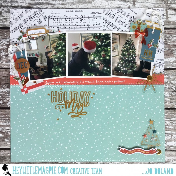 Jo Boland Hey Little Magpie Holiday Magic