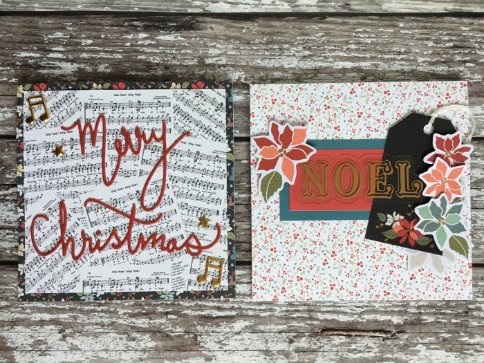 Jo Boland Hey Little Magpie Merry & Bright Christmas cards set2