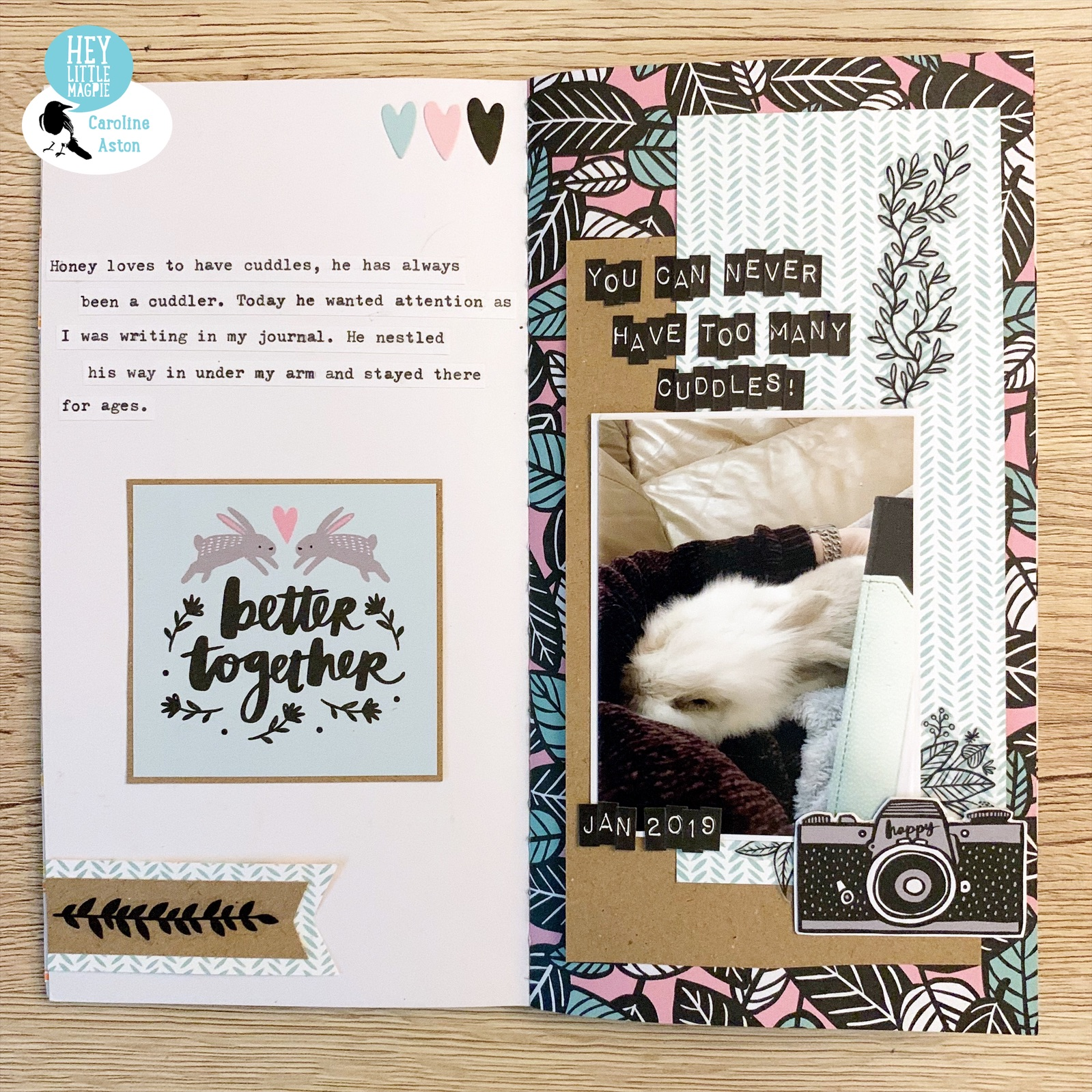 A Traveler's Notebook Insert – Using Shine On by Amy Tangerine