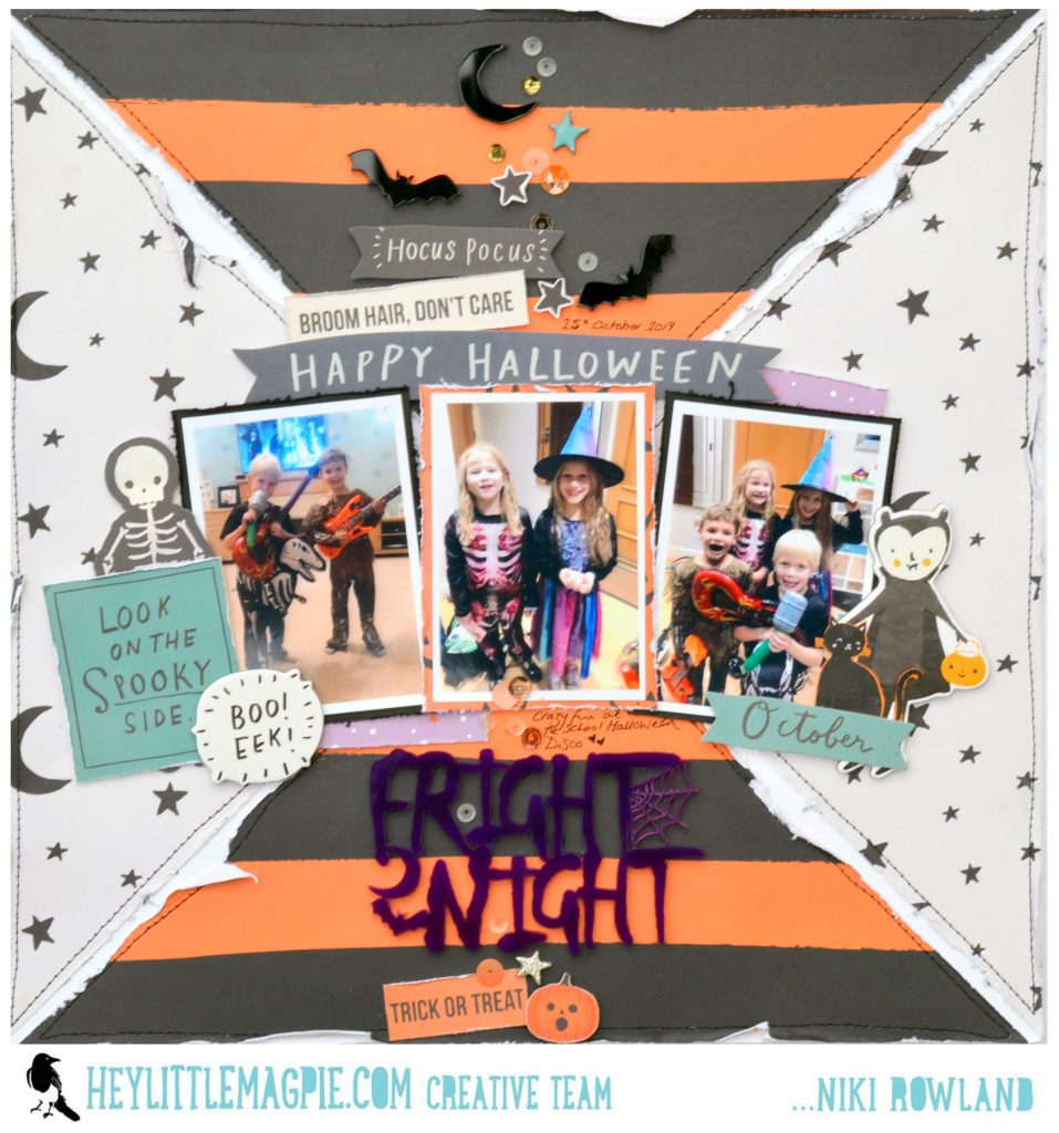 FRIGHT NIGHT with Crate Paper Hey Pumpkin | Niki Rowland