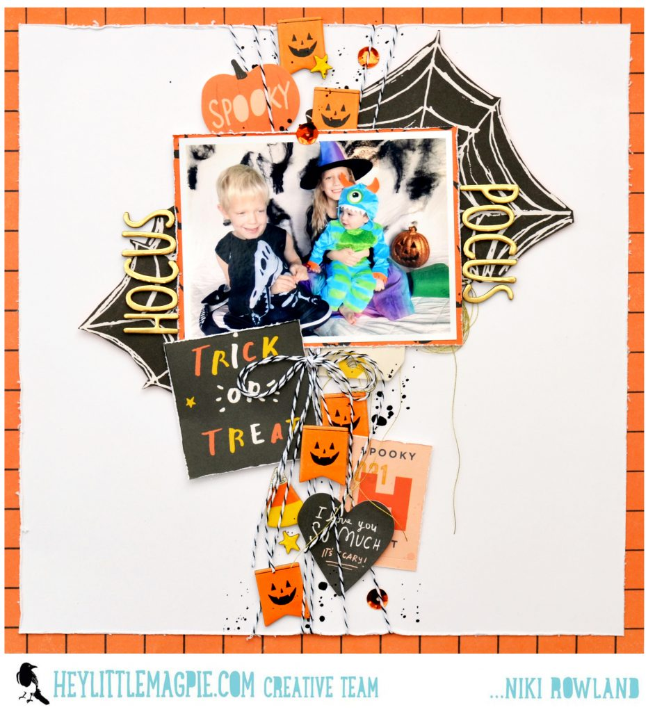 It's all Hocus Pocus with Crate Paper Hey Pumpkin | Niki Rowland