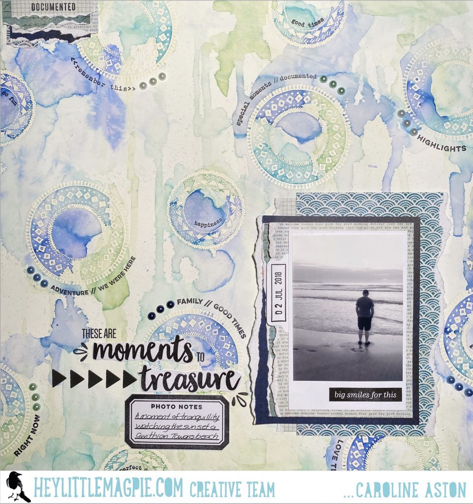 Stamping with Elle's Studio | Caroline Aston