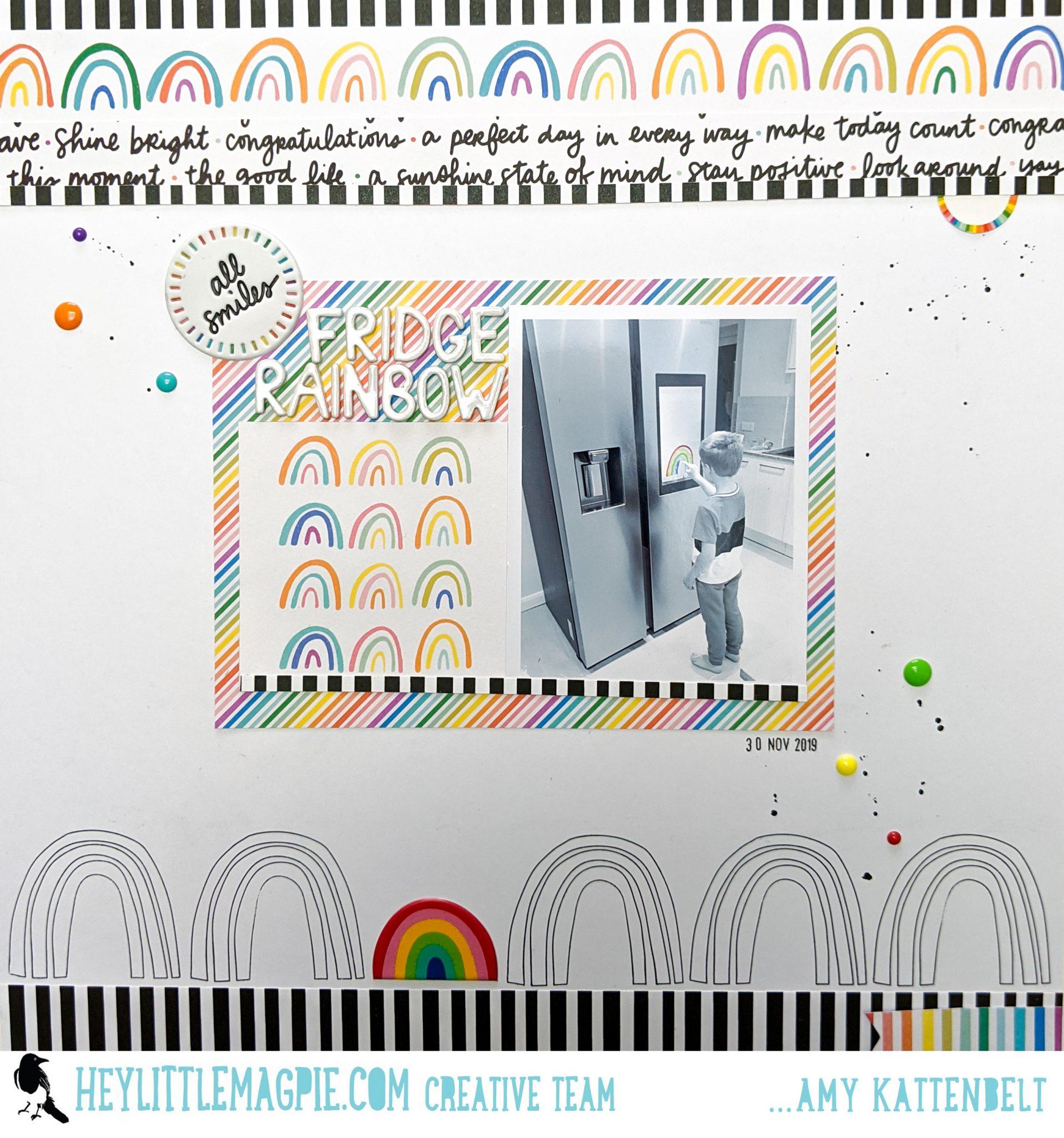 Fridge Rainbow   Picnic In The Park – Amy Tangerine   Amy Kattenbelt