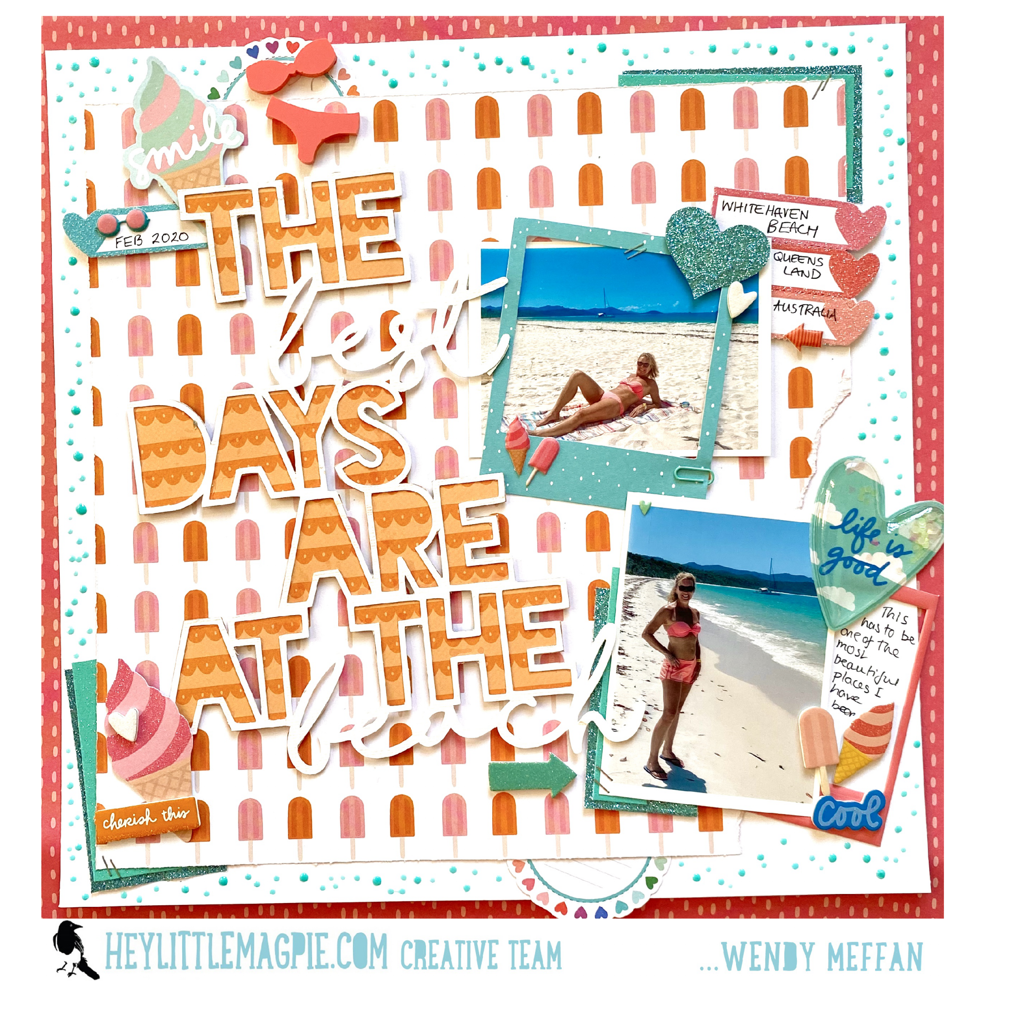 The Best Days … – Amy Tangerine – Picnic in the Park – Wendy Meffan