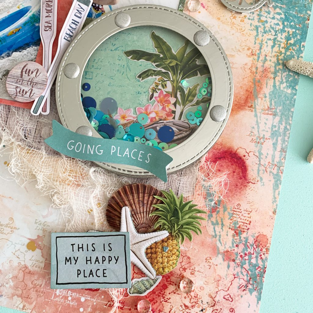Going Places by Morag Cutts | Vintage Coastal | Simple Stories