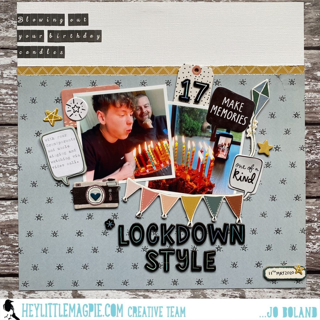Lockdown Birthday | Jo Boland