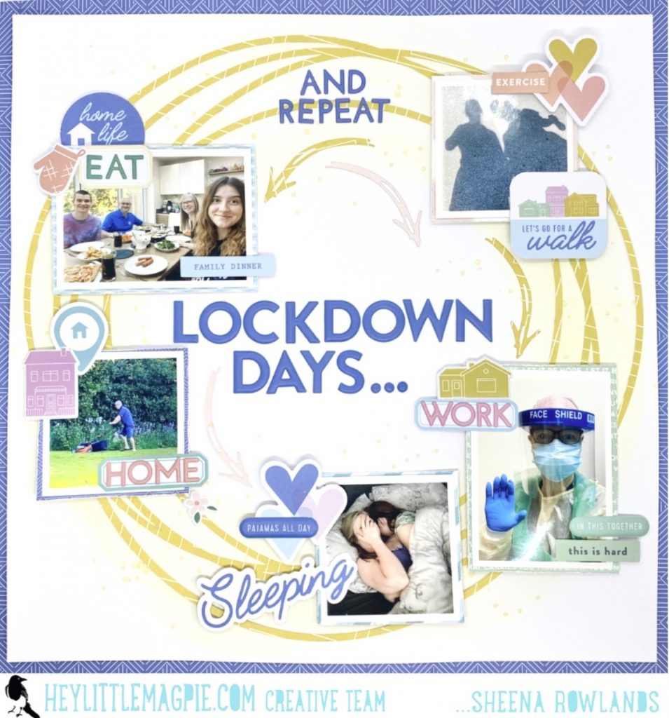 Lockdown Days – Sheena Rowlands