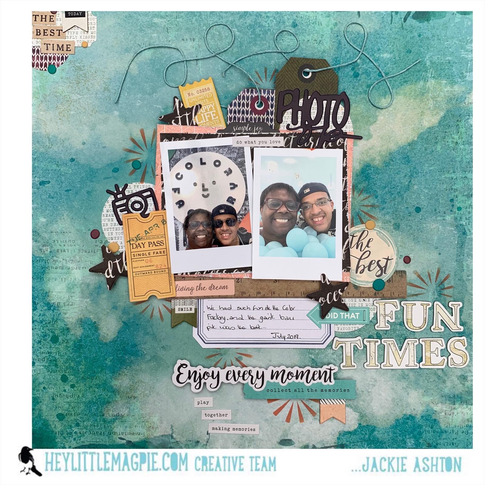 October 2020 Challenge | Jackie Ashton