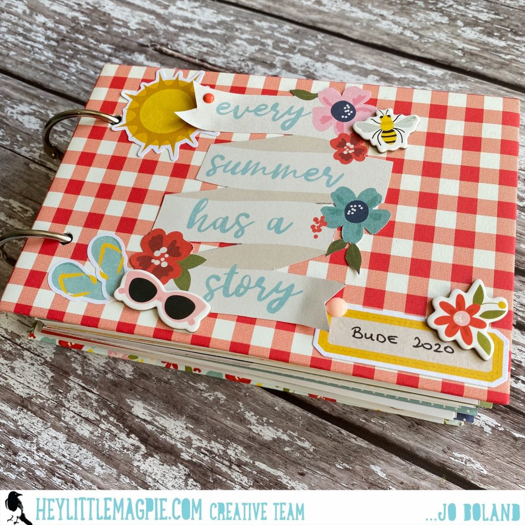 Simple Stories Summer Farmhouse Mini-Book | Jo Boland