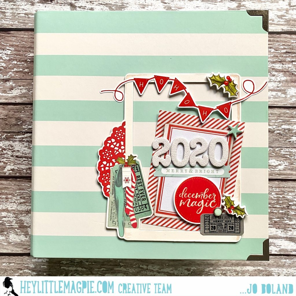 Simple Vintage North Pole December Album | Jo Boland