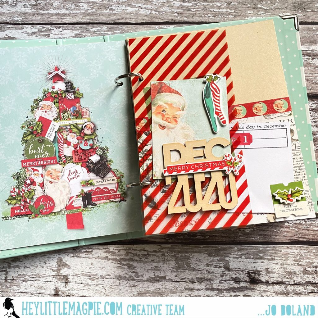 Simple Vintage North Pole December Album Part 2 | Jo Boland