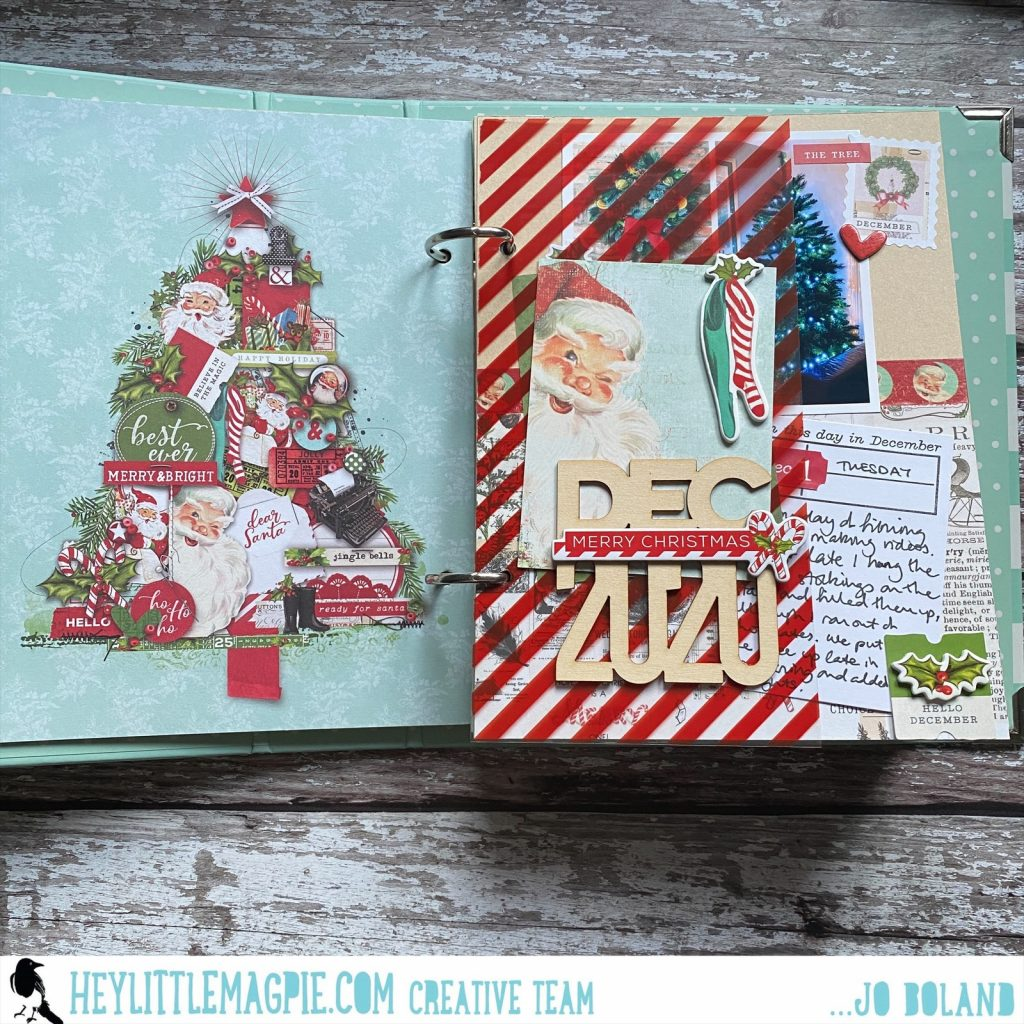 December Daily Simple Vintage North Pole Part 3 – Jo Boland