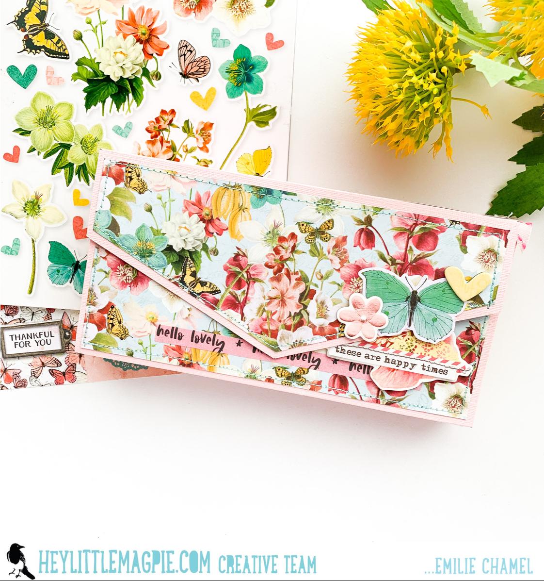 Simple Stories – Simple Vintage Cottage Fields – Emilie Chamel Part 2