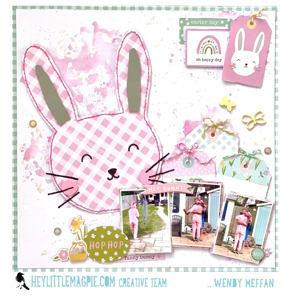 Easter Bunny! – SIMPLE STORIES – Bunnies and Blooms – WENDY MEFFAN