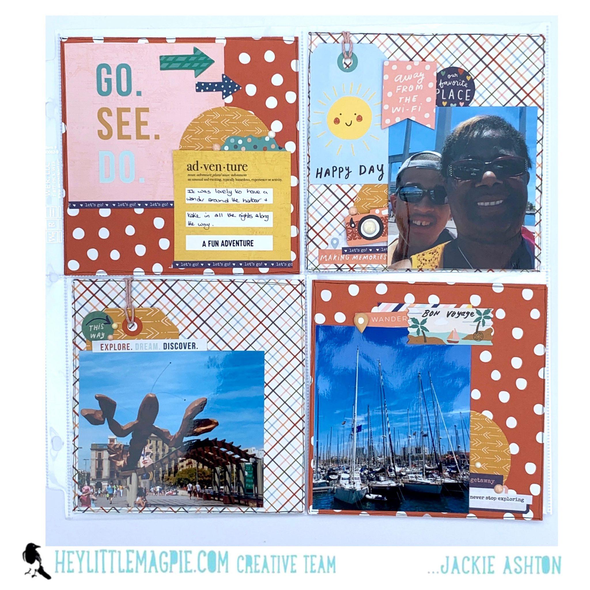 Simple Stories – Safe Travels   Jackie Ashton