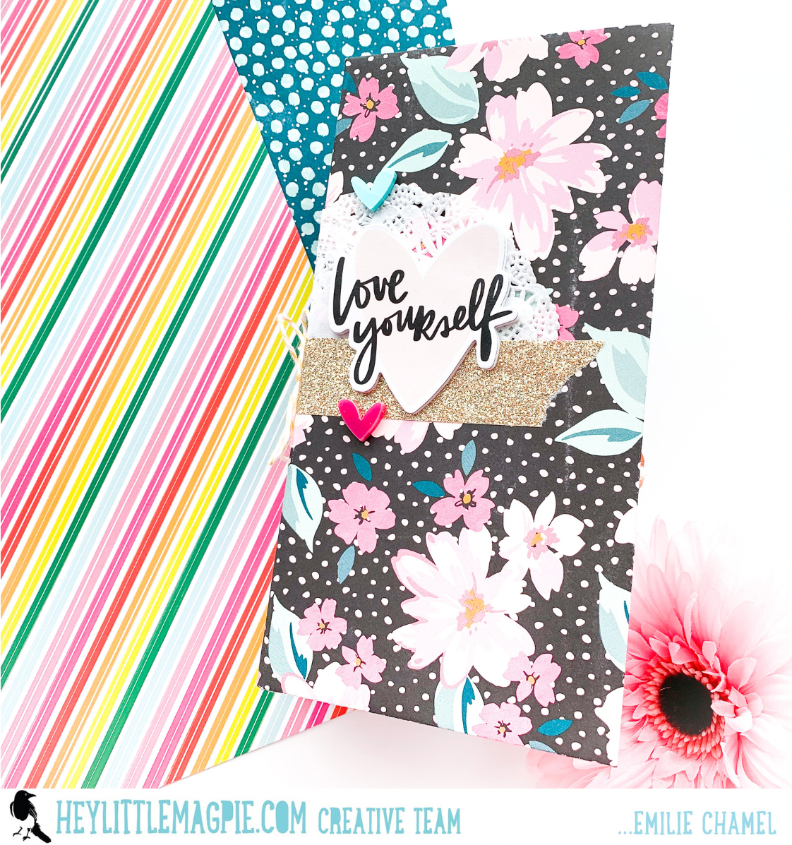 BOLD AND BRAVE – AMY TANGERINE – JOURNAL BY Emilie Chamel